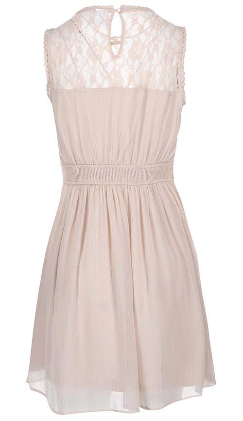 Starorůžové lehounké šaty