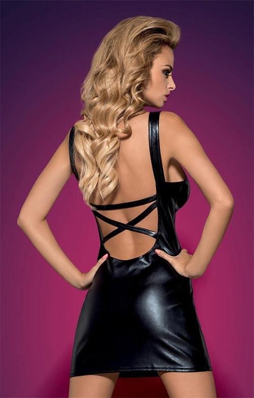 Erotické šaty Darksy dress - Obsessive