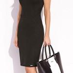 Luxusní dámské pouzdrové šaty do práce i do společnosti