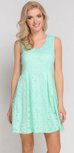 Lehounké krajkové letní šaty i pro plnoštíhlé
