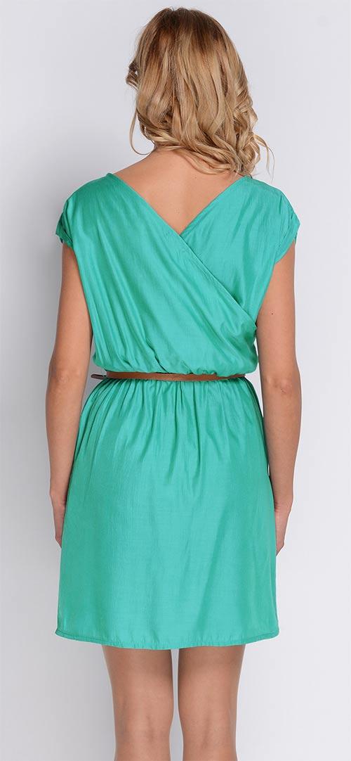 Letní šaty na širší ramínka