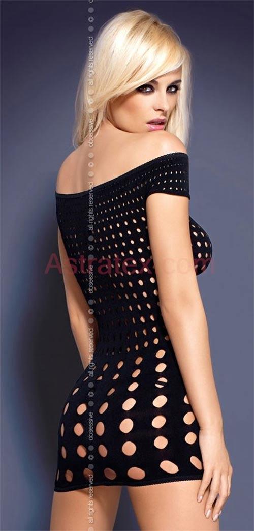 Černé sexy šaty