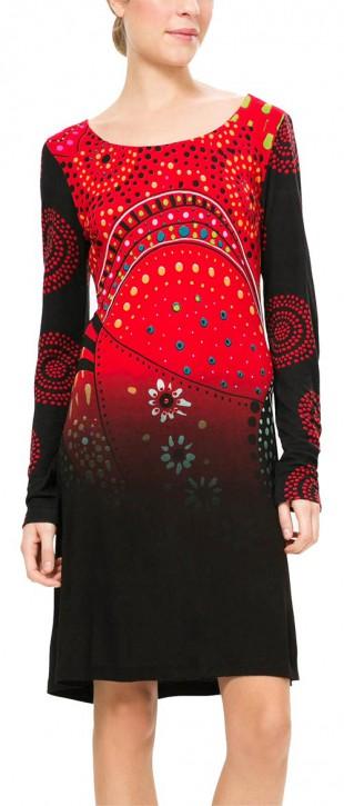 Pestré dámské šaty Desigual z kolekce podzim/zima 2016