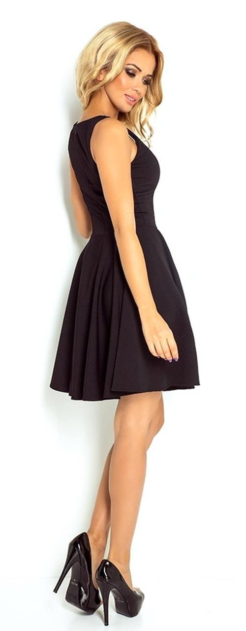 Černé skater šaty