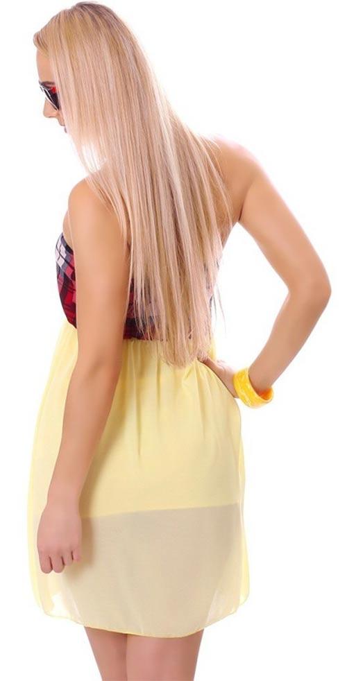 Vzdušné dámské šaty