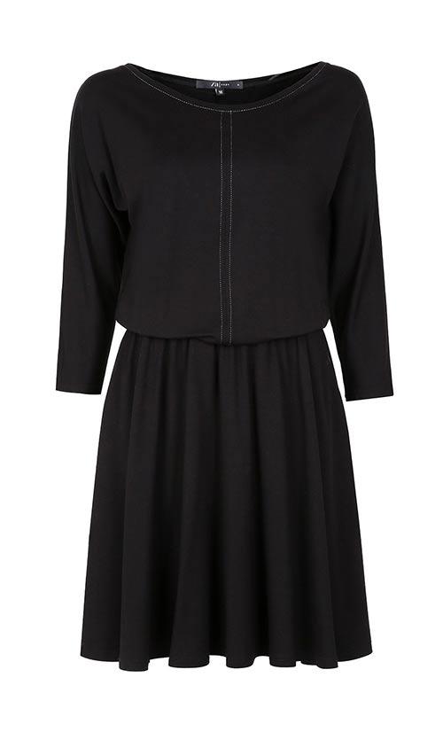 Černé šaty Zaps Altea Black