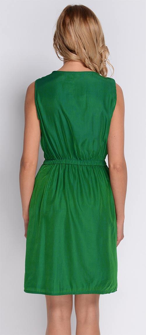 Zelené letní šaty