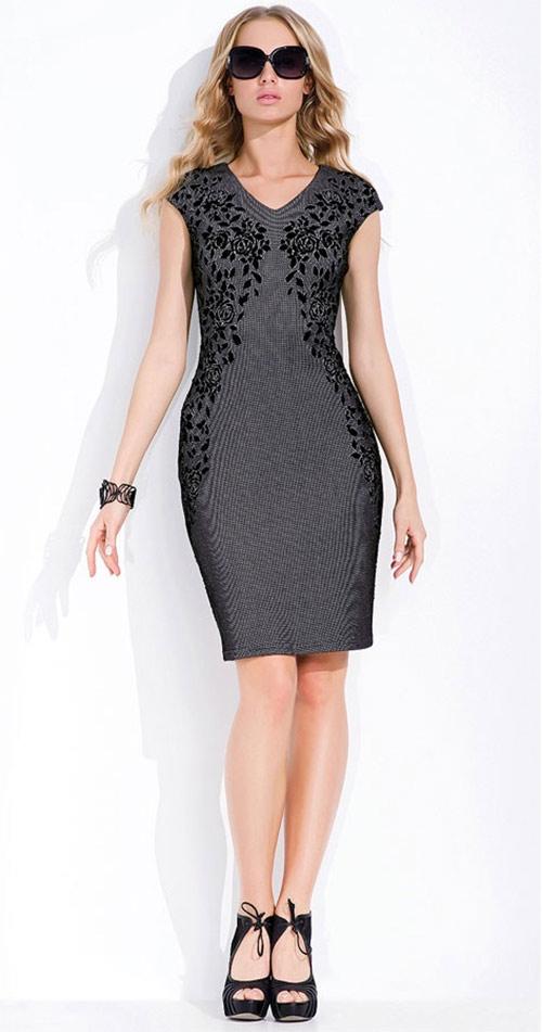 Elegantní šaty klasického střihu Morena
