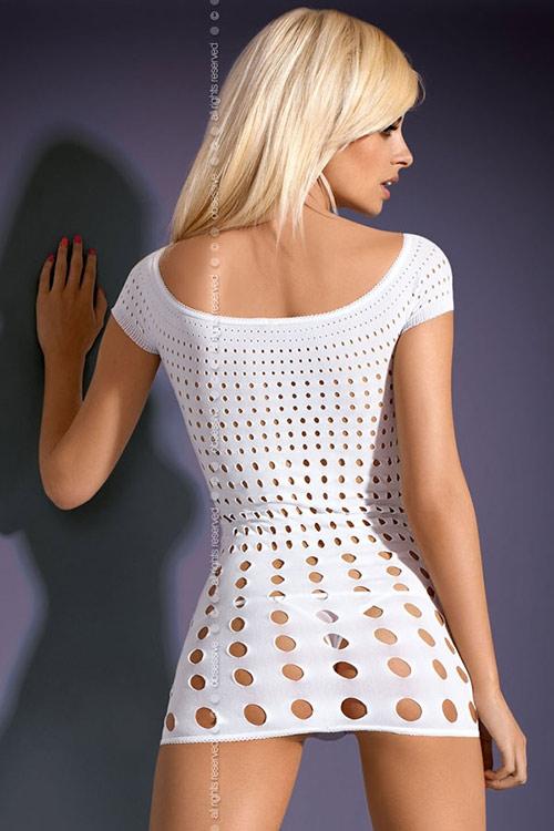 Svůdné elastické mini šaty Rocker s průstřihy