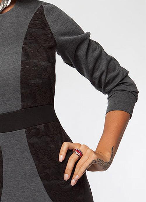 Noblesní šaty jednoduchého střihu Enny 16002