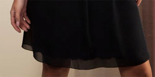 Společenské černé  šaty bez rukávů