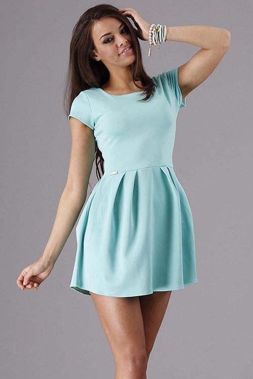 Elegantní letní šaty Makadamia M65
