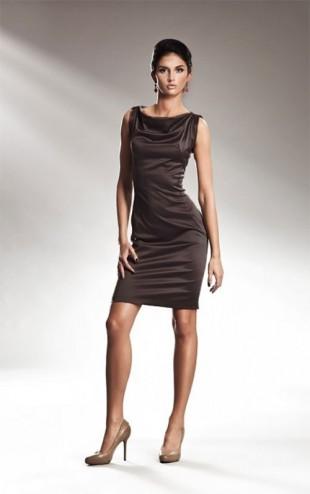 Elegantní šaty na širších ramíncích Nife S15