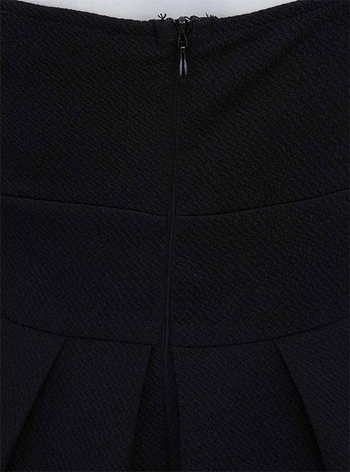 Skvostné černé minišaty AX Paris