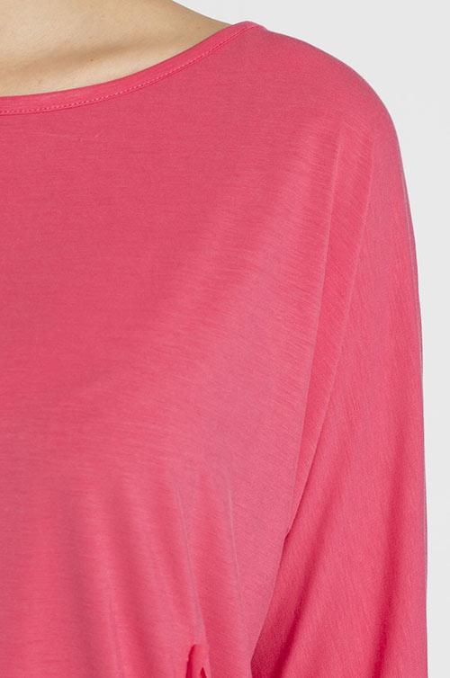 Click Fasion - Růžové minišaty Murray z jemné pleteniny