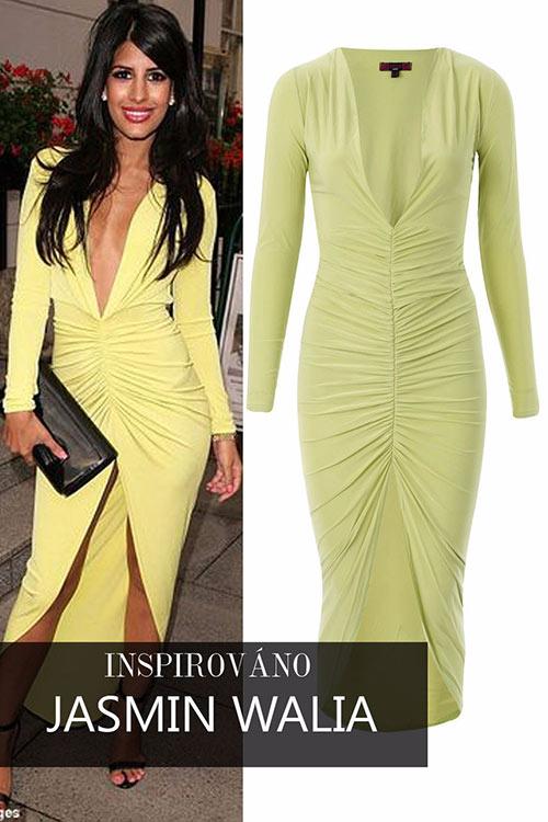 Šaty inspirovány Jasmin Walia