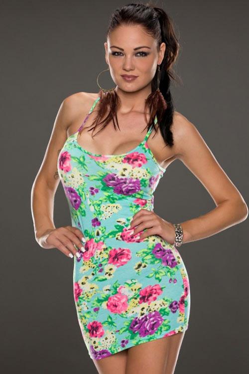 Krátké letní šaty