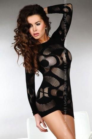 Sexy šaty Ava Livia Corsetti s drobnými oky