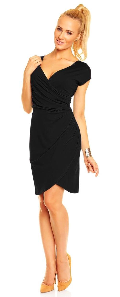 Černé šaty na ples