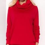 Červené pletené šaty Babette