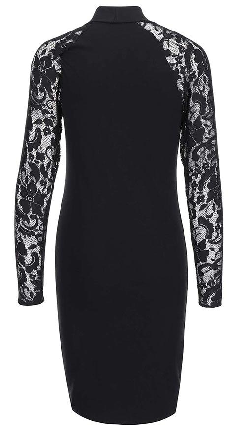 Černé společenské šaty od Zootu