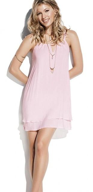 Romatické letní růžové dámské šaty PHAX Dinka