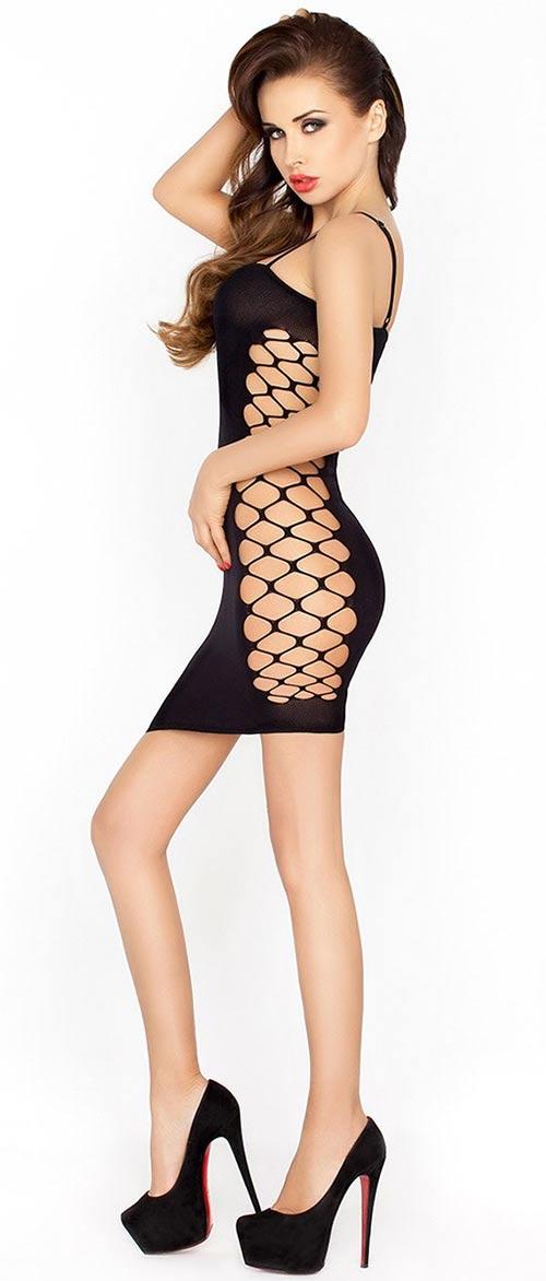 Erotické šaty bez kalhotek