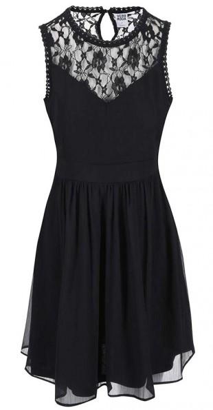 Černé šaty do společnosti i na ples Vero Moda Aya