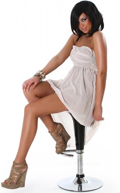Levné dámské letní šaty