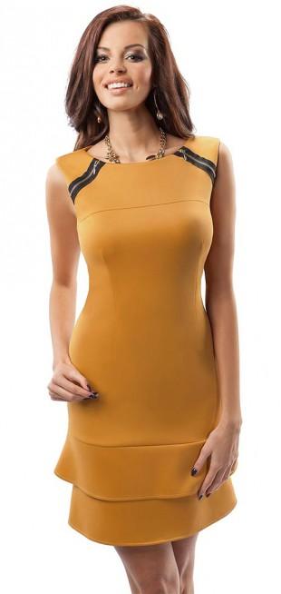 Moderní dámské šaty bez rukávu Enny 17010