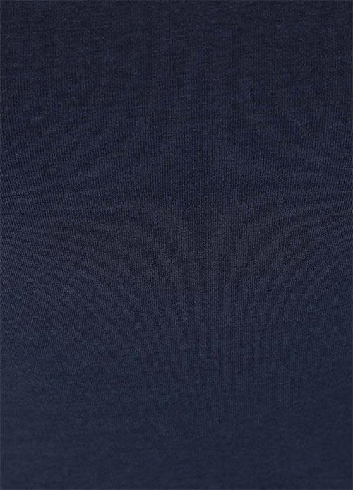 Lehce průsvitné modré dámské šaty
