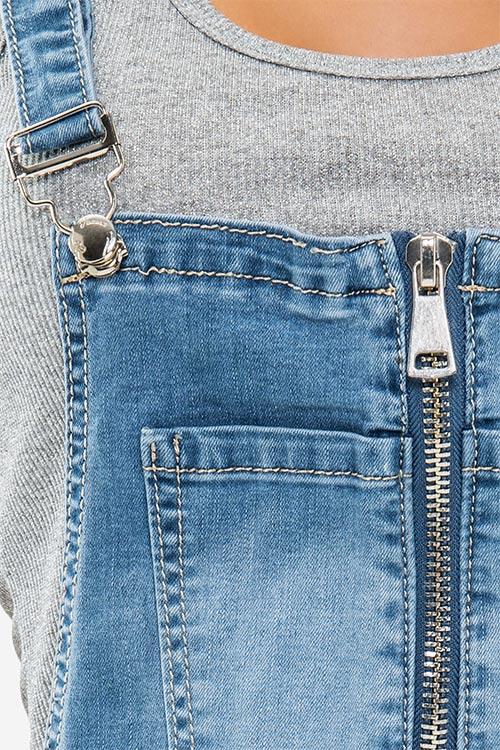 Riflové šaty s nastavitelnými ramínky
