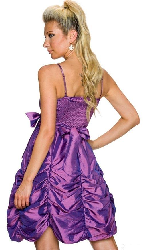 Slavnostní šaty s mašlí