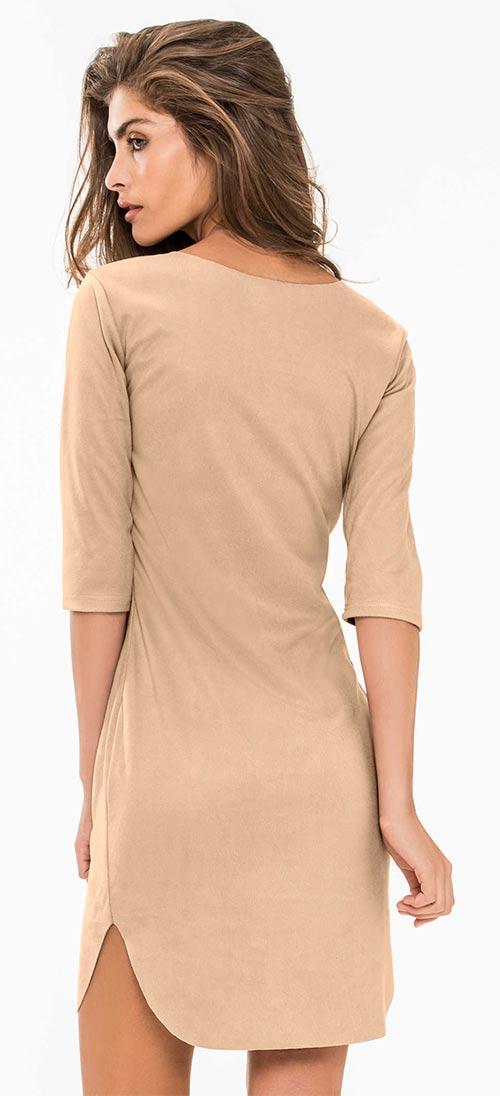 Béžové společenské šaty 01cb76772f9