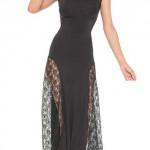 Dlouhé společenské šaty i ve velikostech pro plnoštíhlé