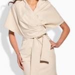 Dámské šaty originálního střihu připomínají kimono Lemoniade L138