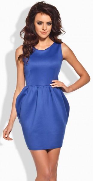 Pouzdrové společenské šaty Lemoniade L141 s nabíranými boky