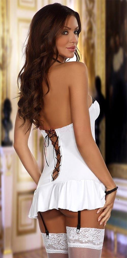 Erotické šaty se šněrovačkou