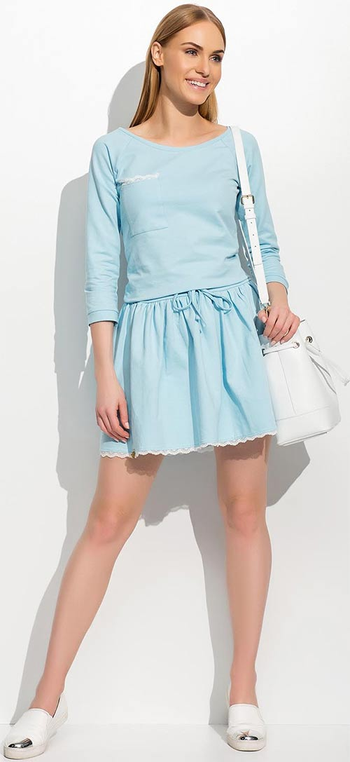 Lehounké dámské letní šaty