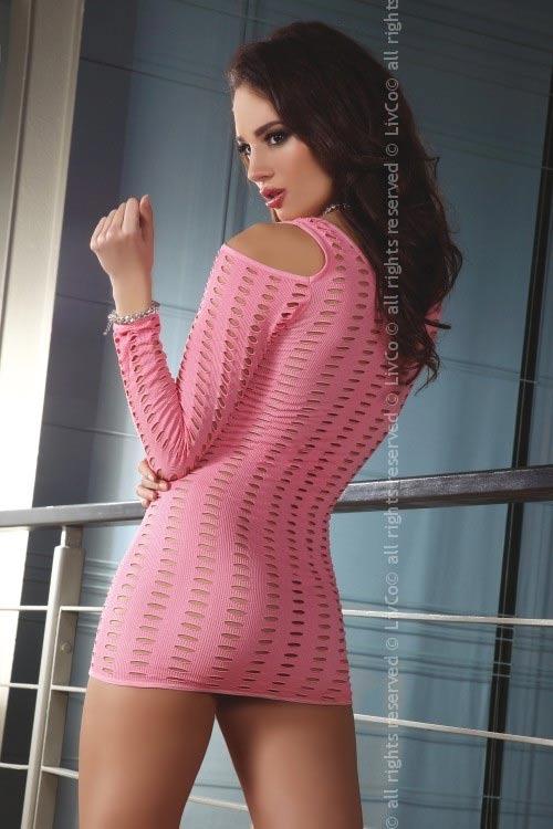 Sexy průsvitné erotické šaty