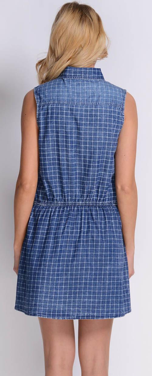 Riflové letní šaty
