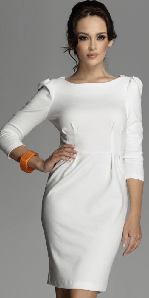 Slavnostní pouzdrové šaty Figl 82