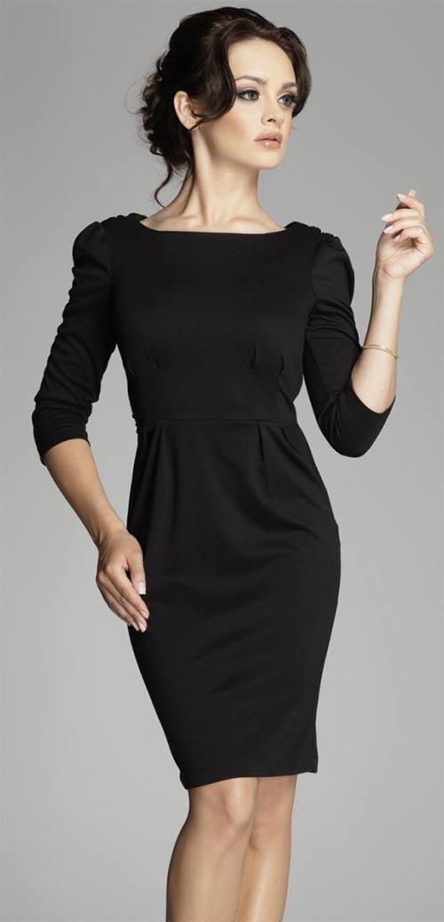 Společenské šaty - vycpávky na ramenou