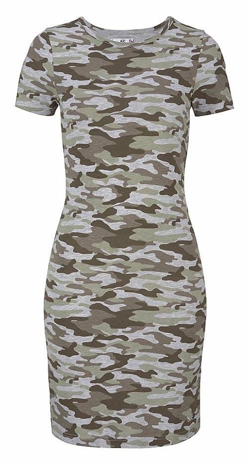 Dámské army šaty