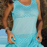Rychleschnoucí šaty na plavky