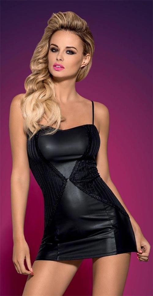 Sexy lesklé šaty ve stylu disco