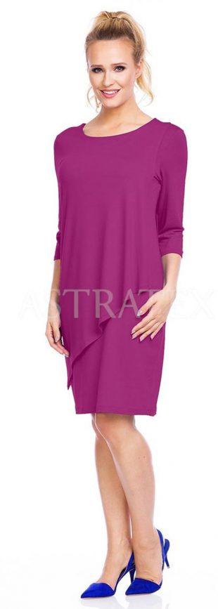 Jednoduché dámské šaty pohodlného střihu