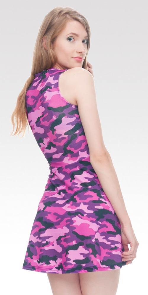 Letní army šaty