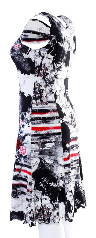Letní šaty pro plnoštíhlé