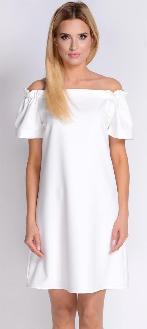 Šaty Avaro s odhalenými ramínky
